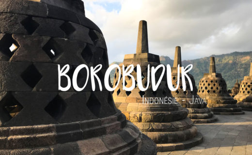 Borobudur Java Indonésie