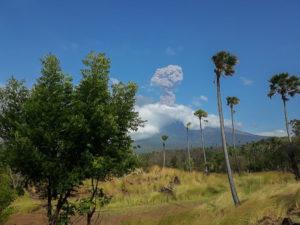 Indonésie Bali Amed Agung éruption