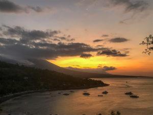 Indonésie Bali Amed sunset couché de soleil
