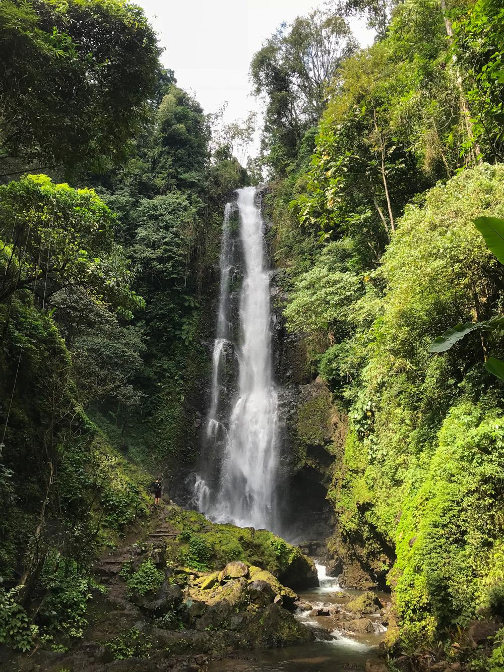 Indonésie Bali Munduk voyage montagne cascade waterfall Laagan Melanting