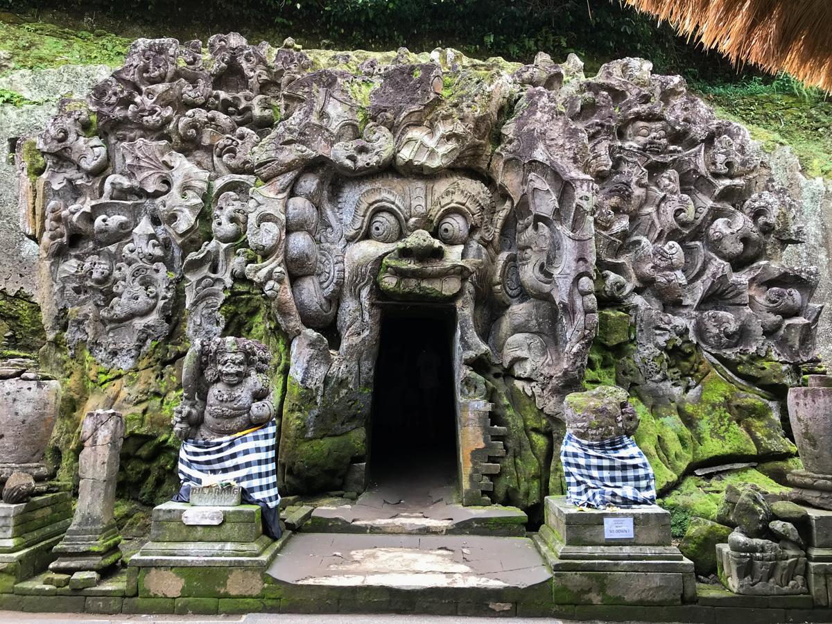 Ubud Indonésie Bali voyage temple Goa Gajah