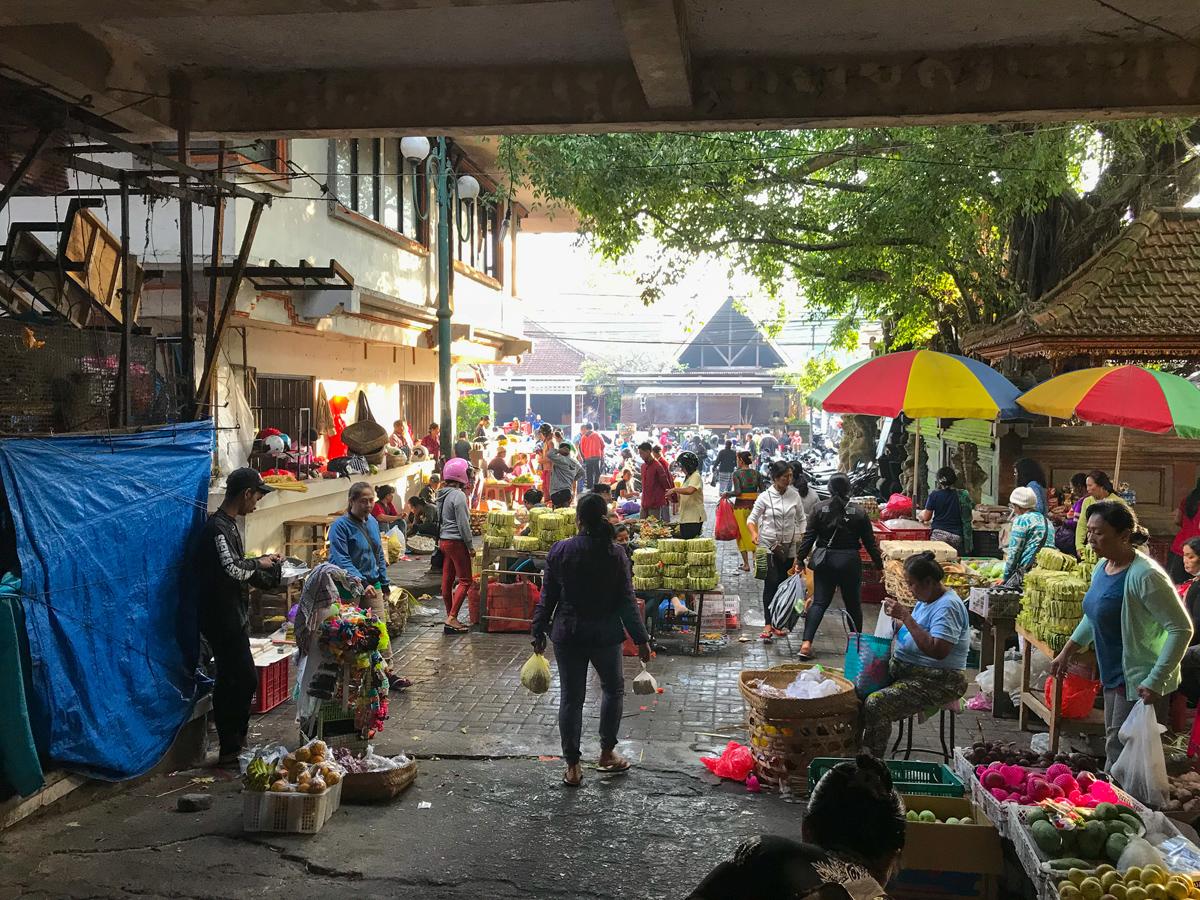 Ubud Indonésie Bali voyage Marché