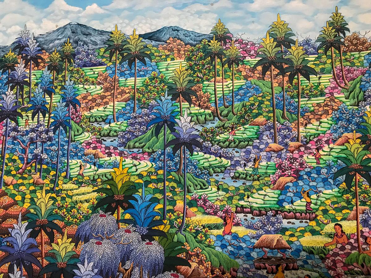 Ubud Indonésie Bali voyage peinture art