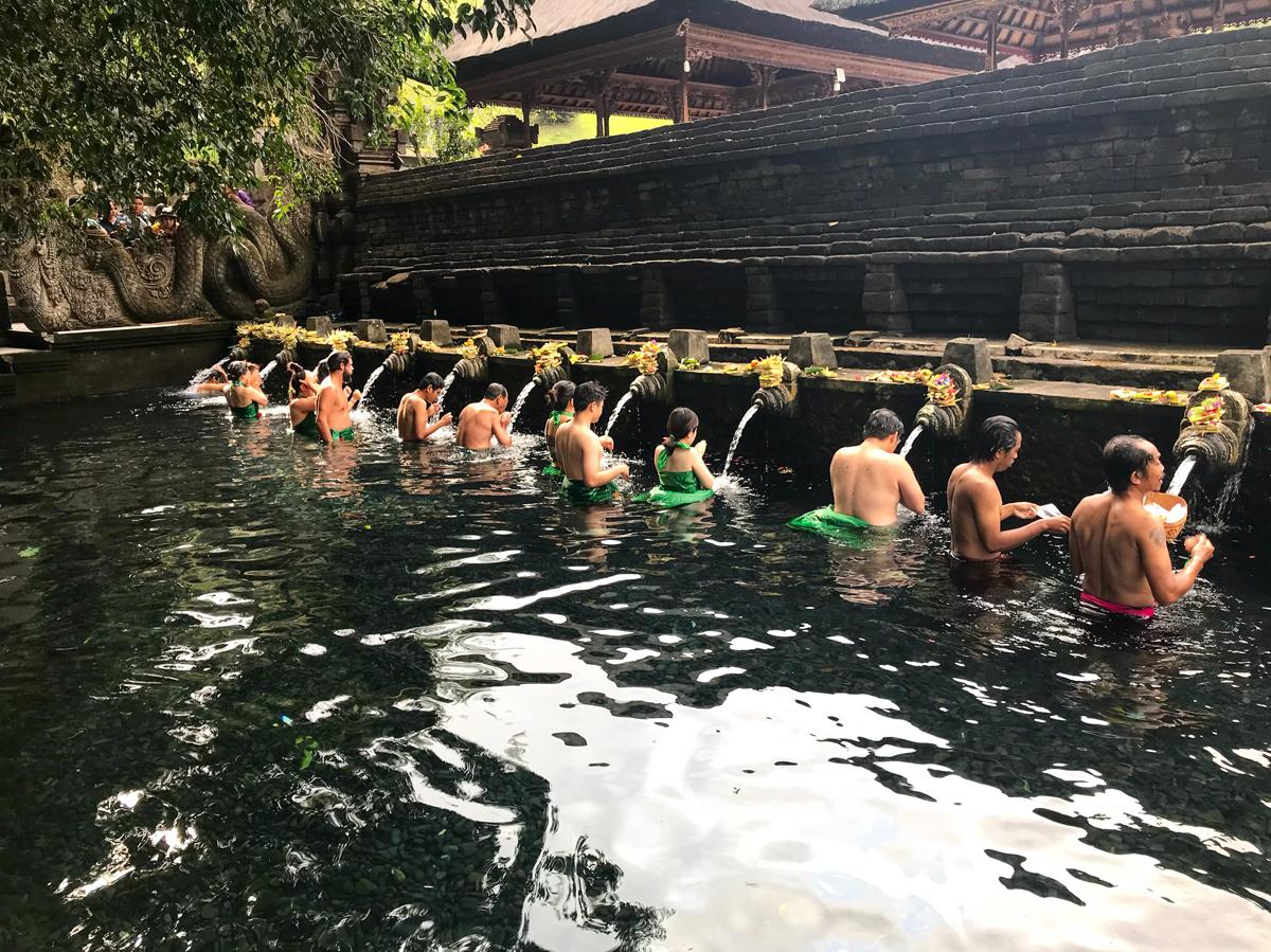 Ubud Indonésie Bali voyage Pura tira empuul temple sacré