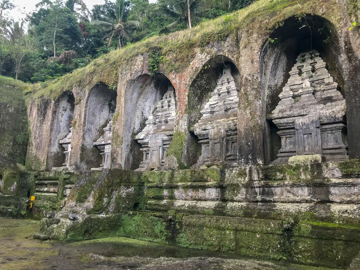 Ubud Indonésie Bali voyage palais Gunung Kawi