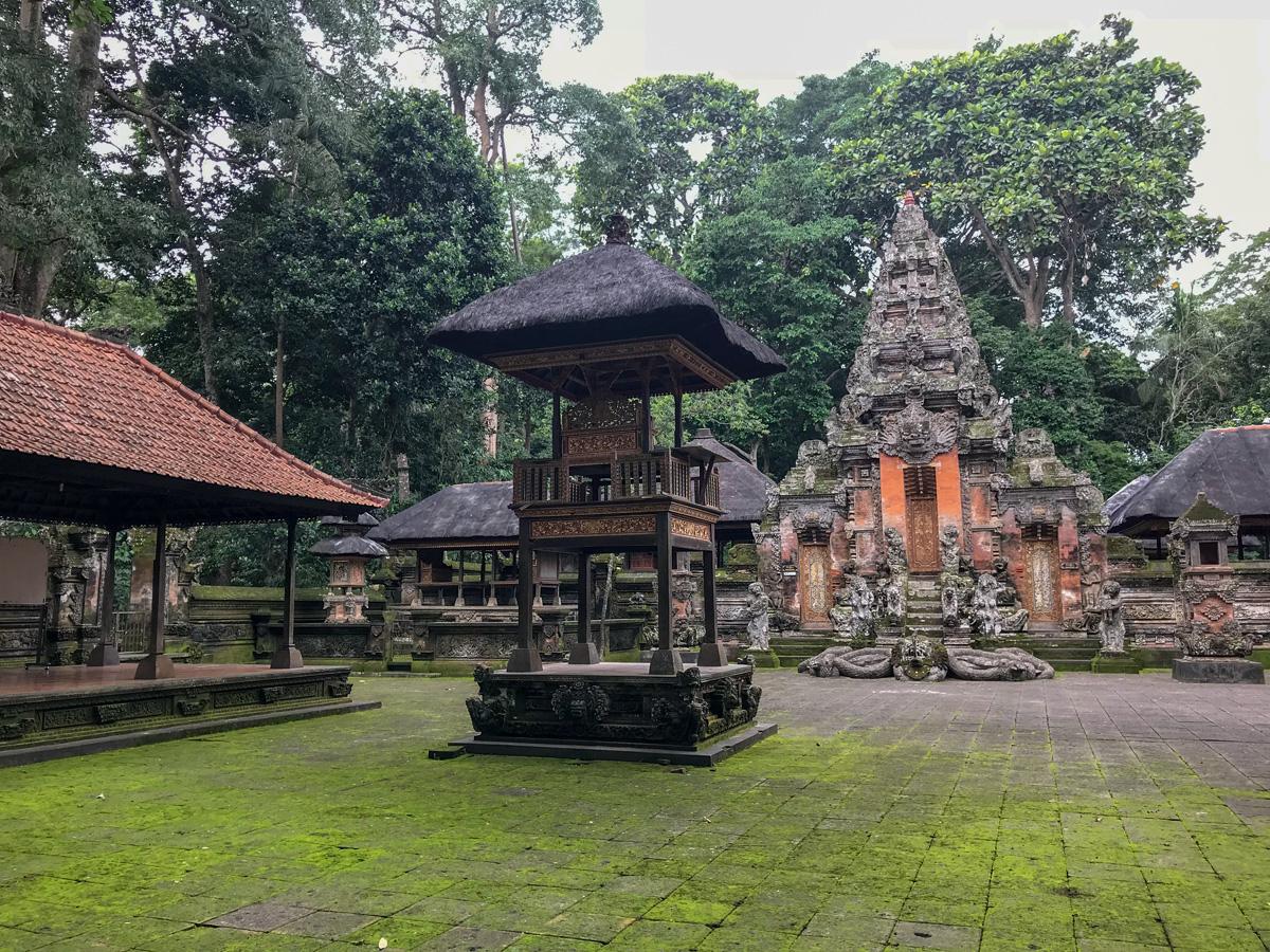 Ubud Indonésie Bali voyage monkey forest temple