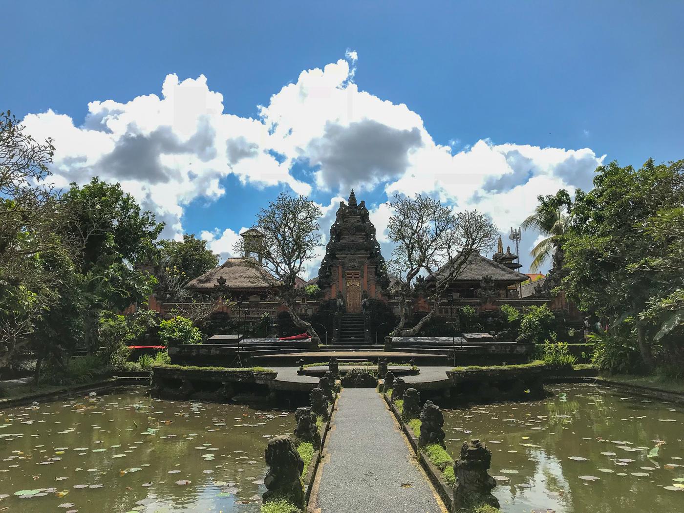 Ubud Indonésie Bali voyage Saraswati Temple Religion