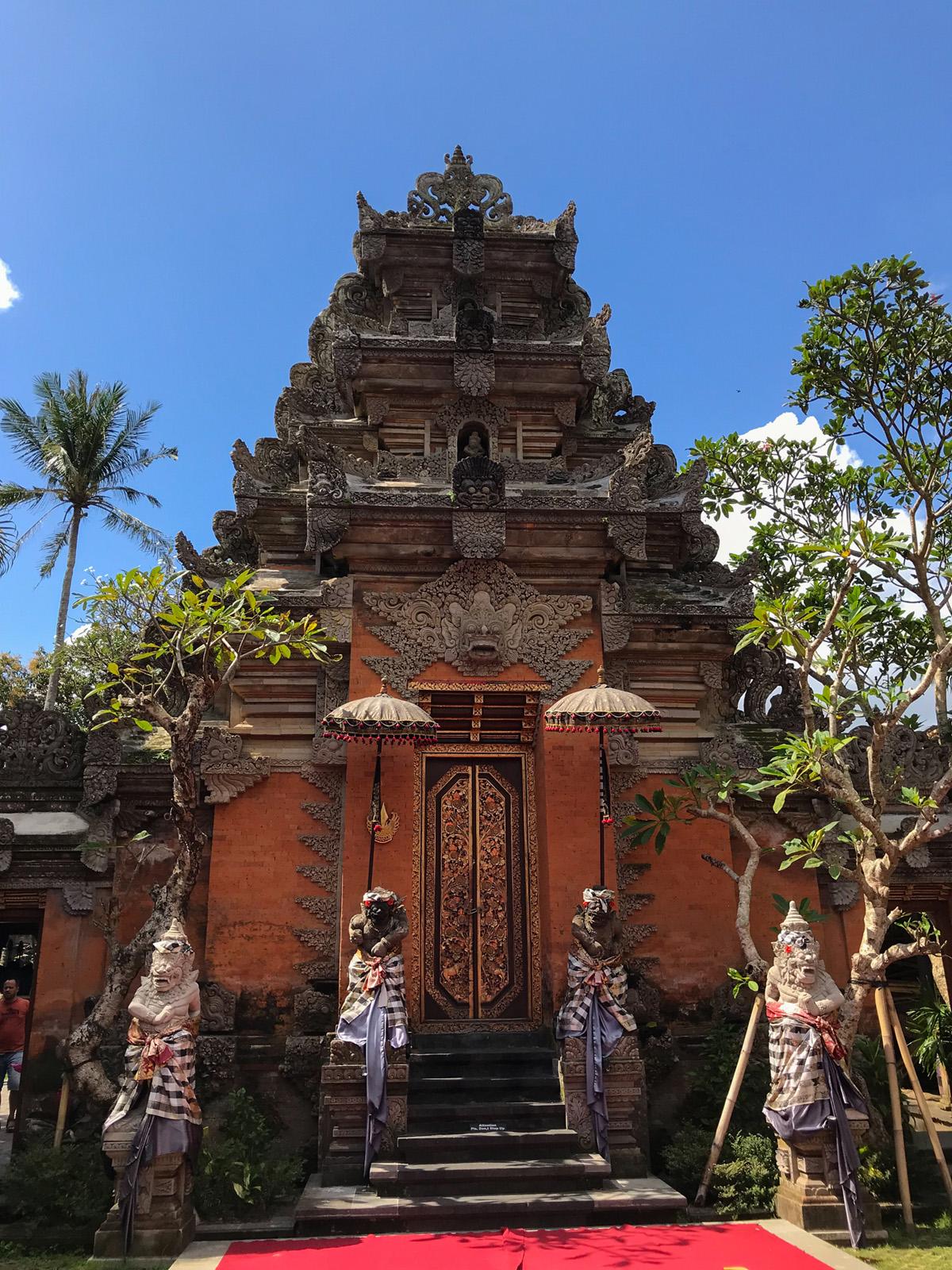 Ubud Indonésie Bali voyage temple d'Ubud
