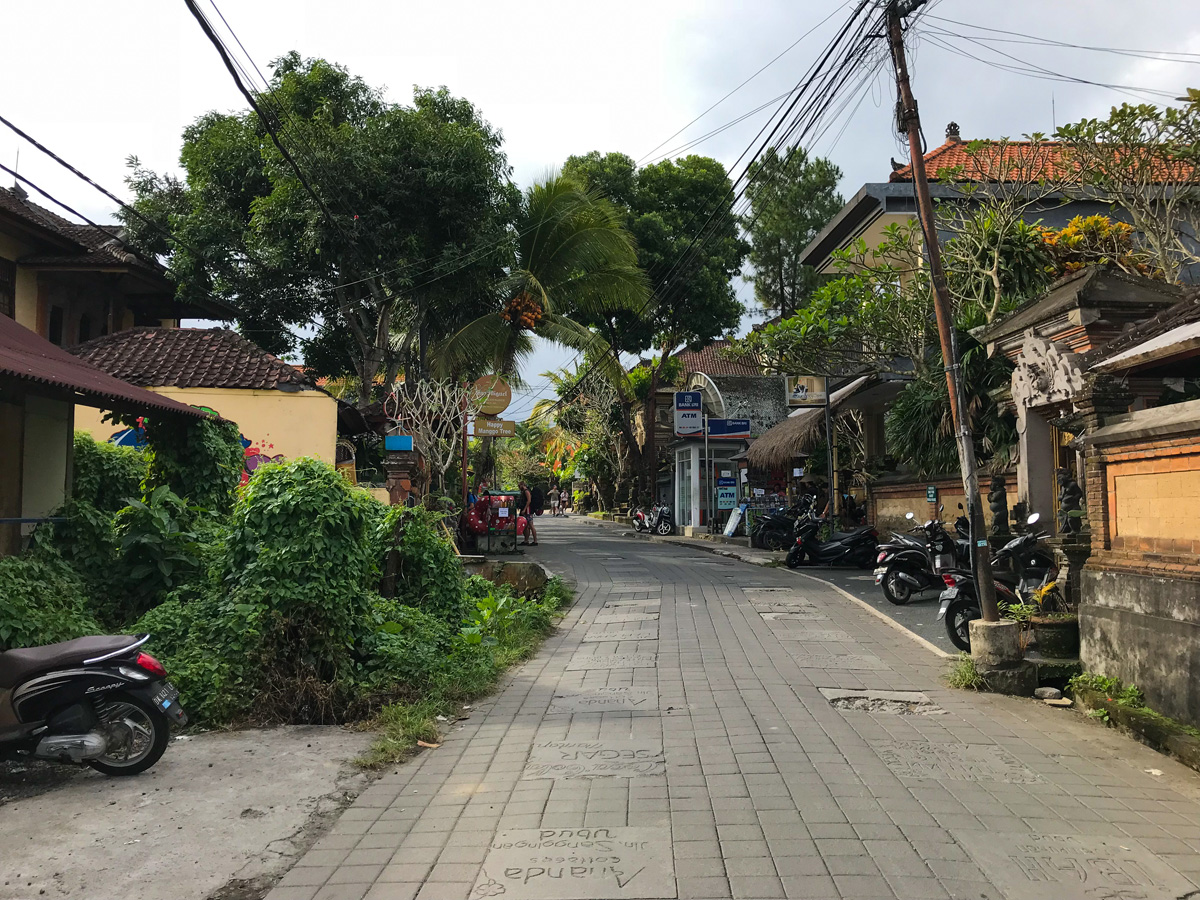 Ubud Indonésie Bali voyage ubud ville