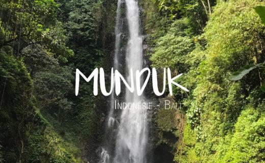 Munduk Bali Indonésie