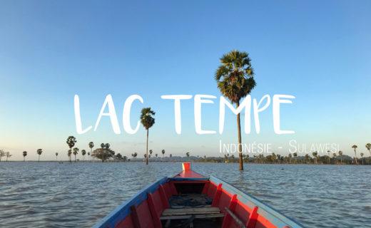 Lac Tempe Sulawesi Indonésie