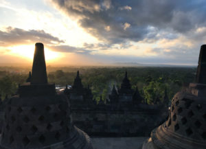 Yogyakarta Java Indonésie borobudur temple blog voyage
