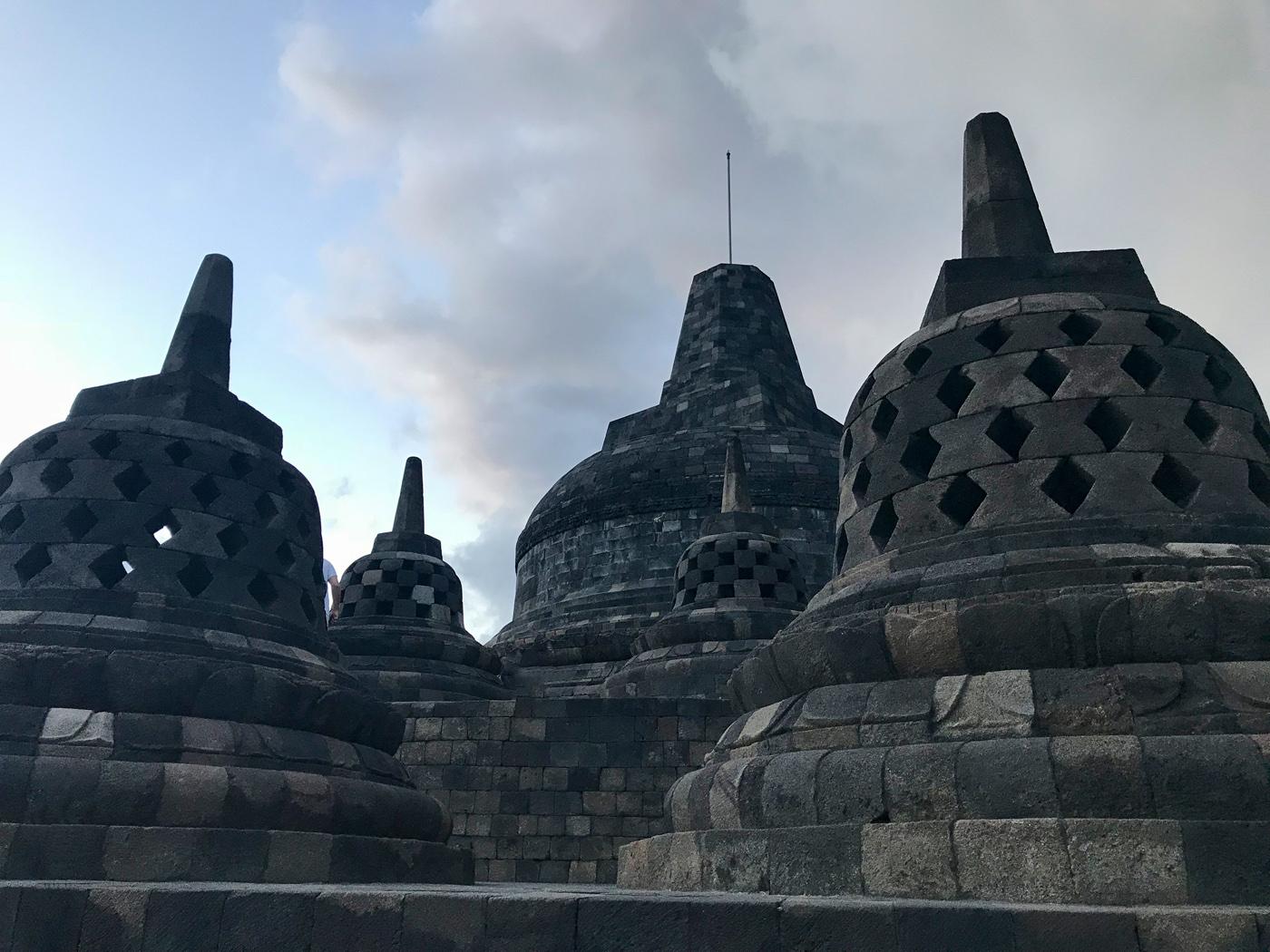 Yogyakarta Java Indonésie borobudur temple blog voyage Bouddha