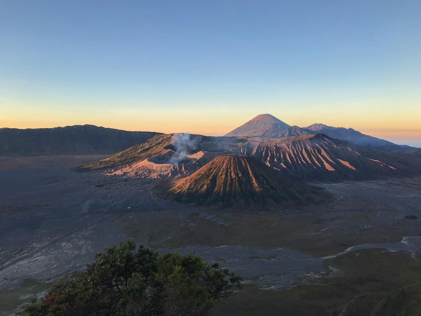 Java Indonésie Bromo volcan sunrise