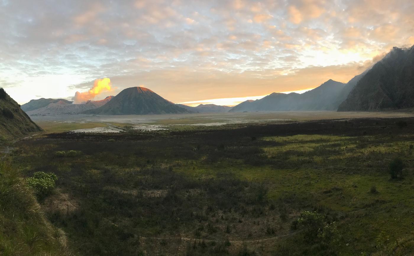 Java Indonésie Bromo volcan caldeira