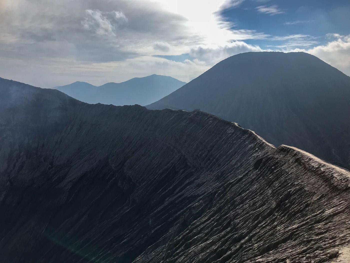 Java Indonésie Bromo volcan crete