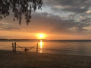 Indonésie Bali Gili Lombok hamac plage couché de soleil