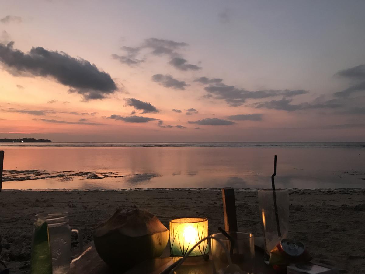 Indonésie Bali Gili Lombok cocktail plage