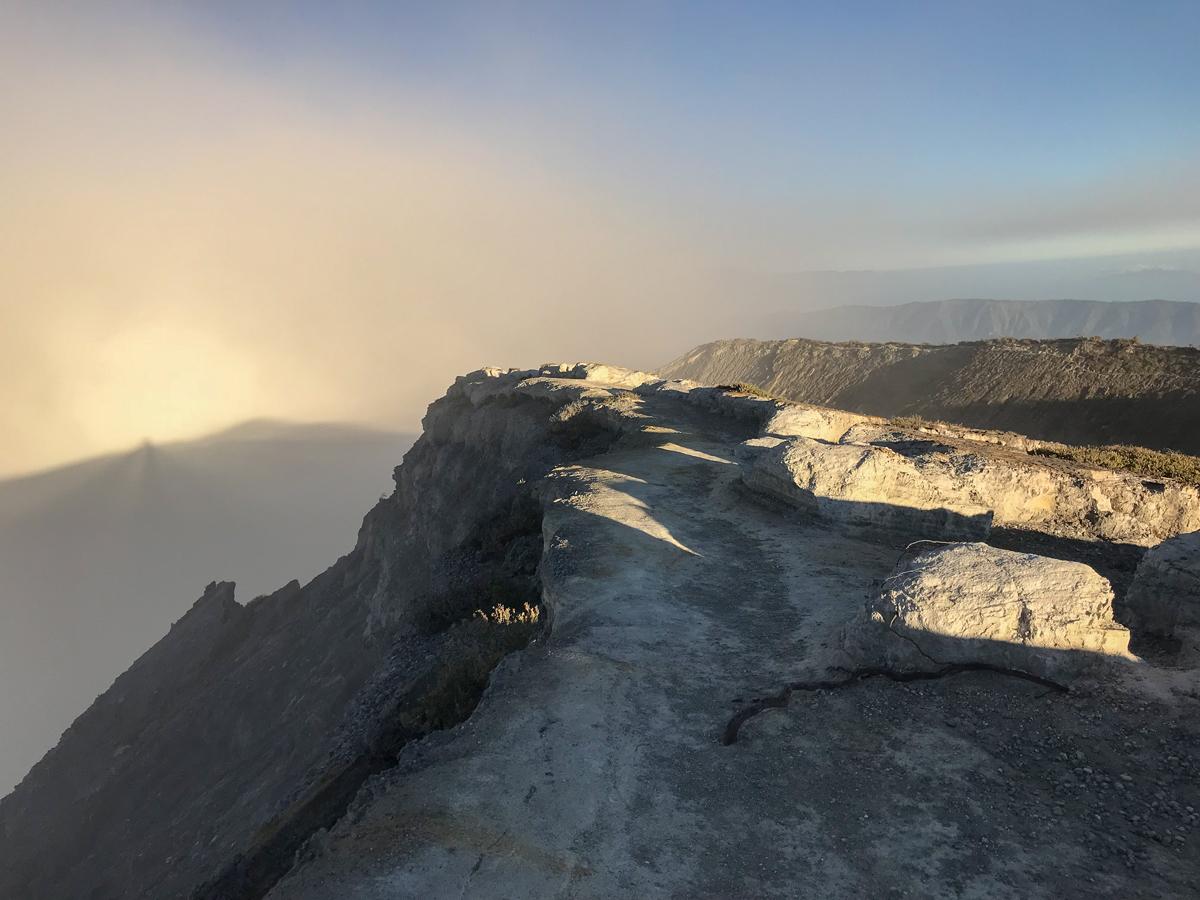 Java Indonésie Kawa Ijen volcan crete