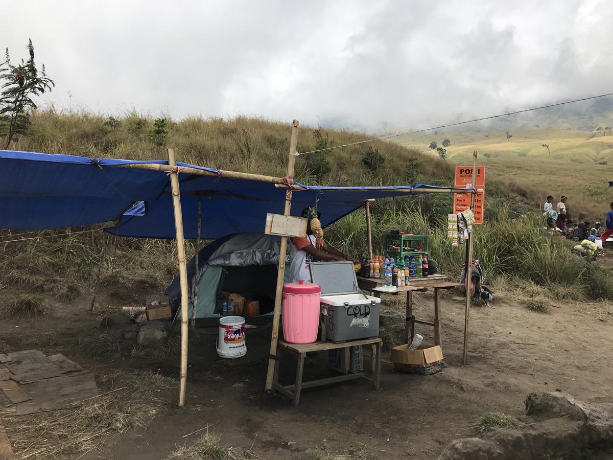 Indonesie Lombok Mont Rinjani Ascension POS