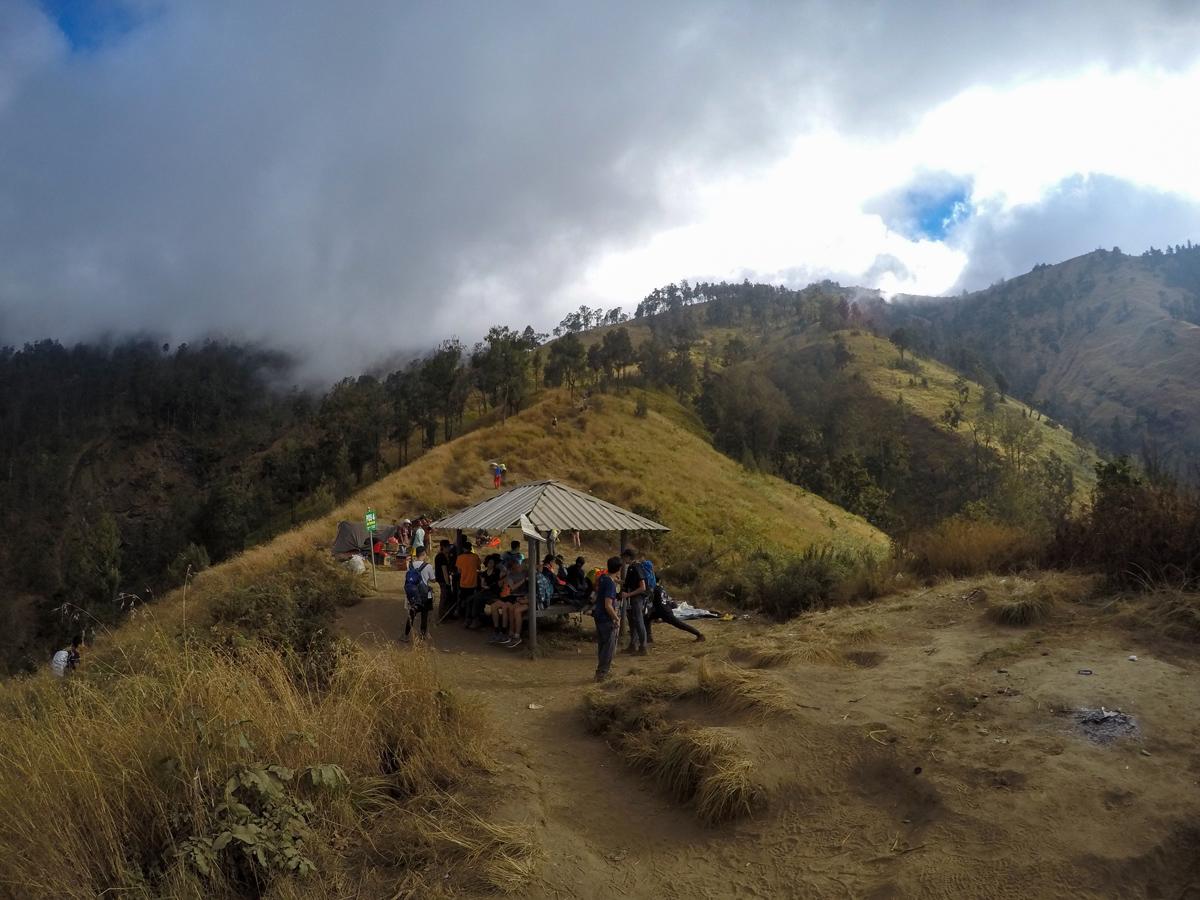 Indonesie Lombok Mont Rinjani Ascension POS4