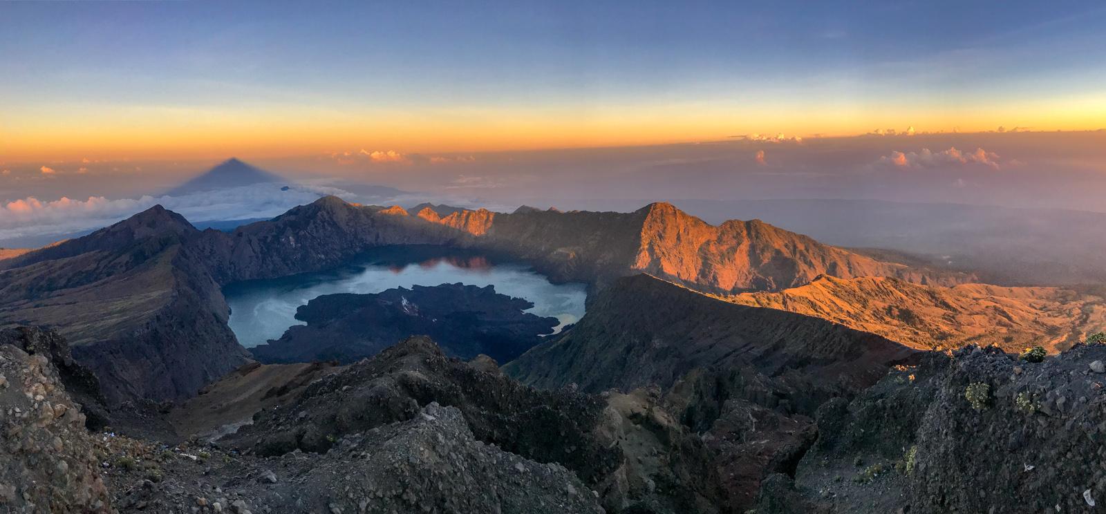 Indonesie Lombok Mont Rinjani sommet