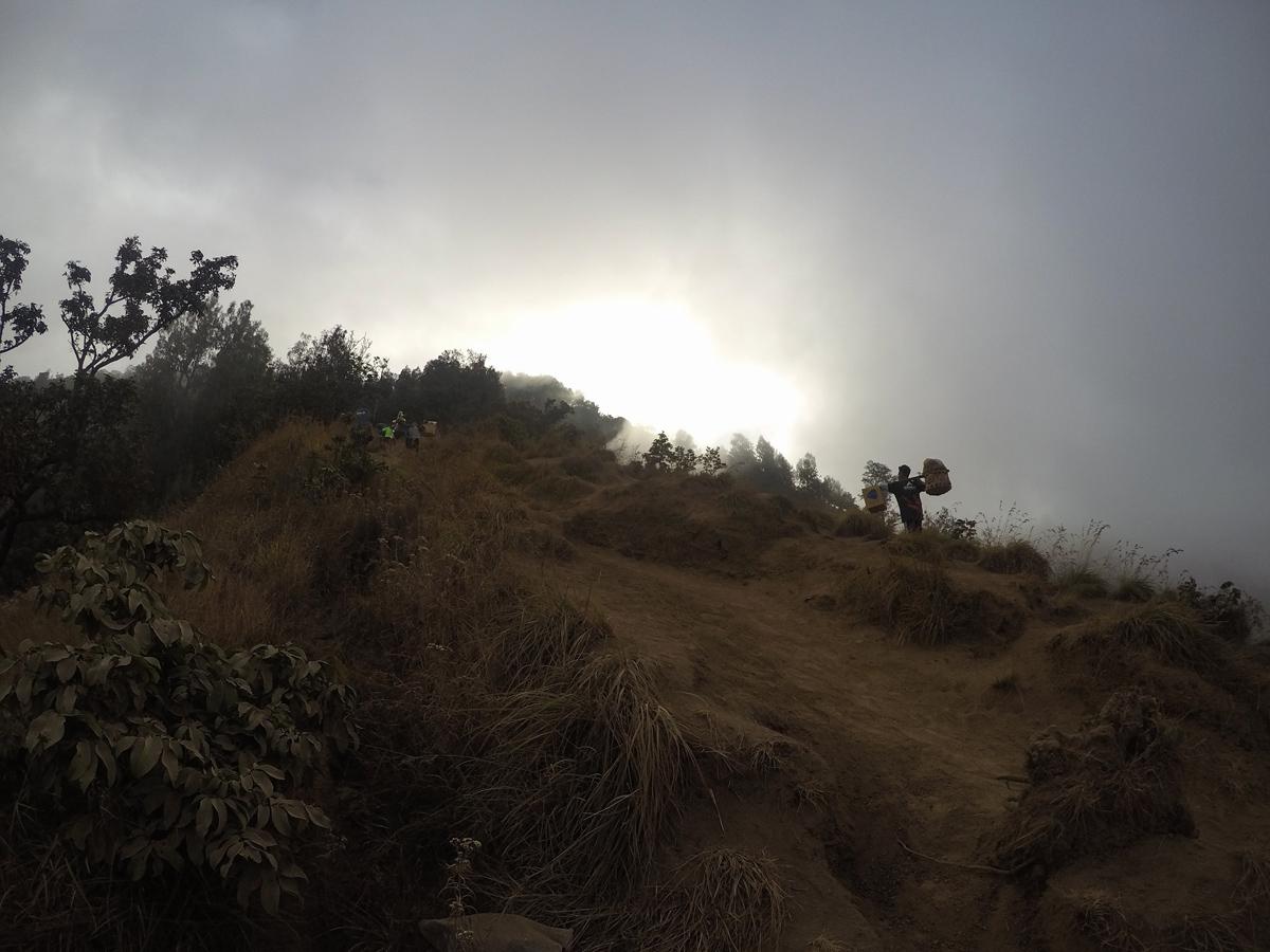 Indonesie Lombok Mont Rinjani Ascension