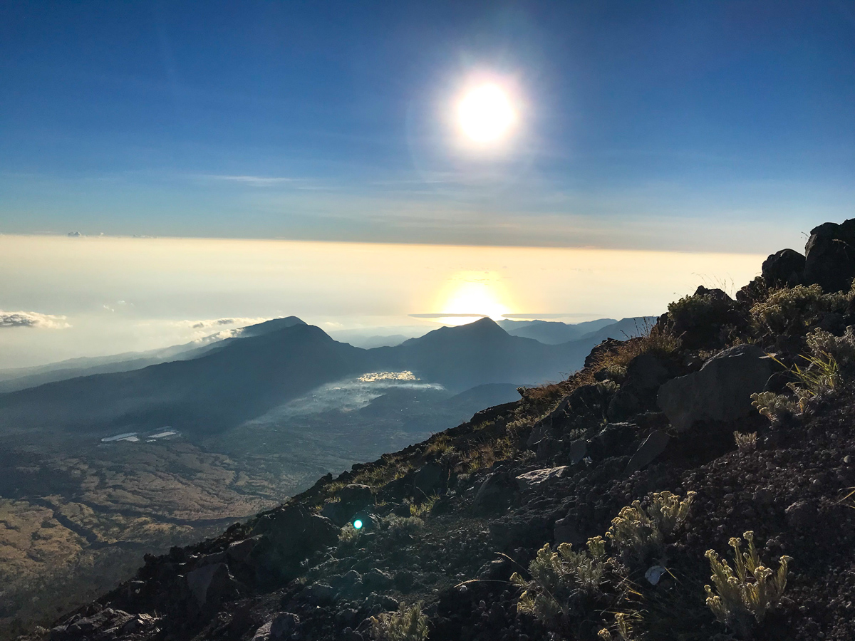 Indonesie Lombok Mont Rinjani Ascension Sommet
