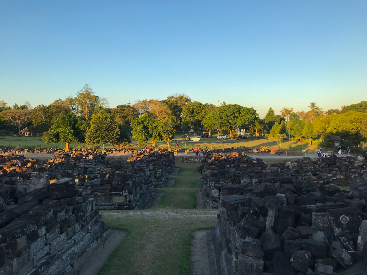 Prambanan Java Indonésie borobudur temple blog voyage Hindou