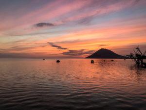 Sulawesi Indonésie Bunaken coucher de soleil