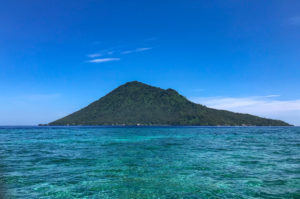 Sulawesi Indonésie Bunaken volcan