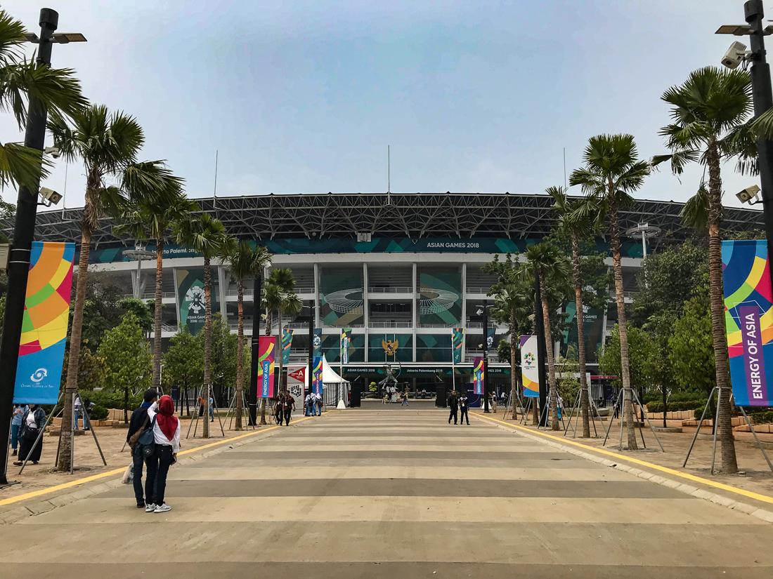 Jakarta Java Indonésie Asian Games
