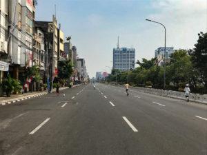 Jakarta Java Indonésie avenue ville