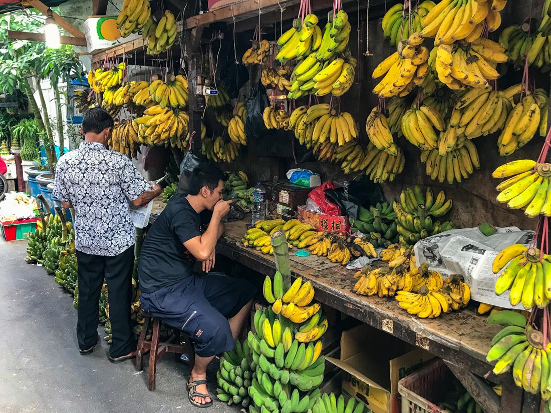 Jakarta Java Indonésie Marché banane