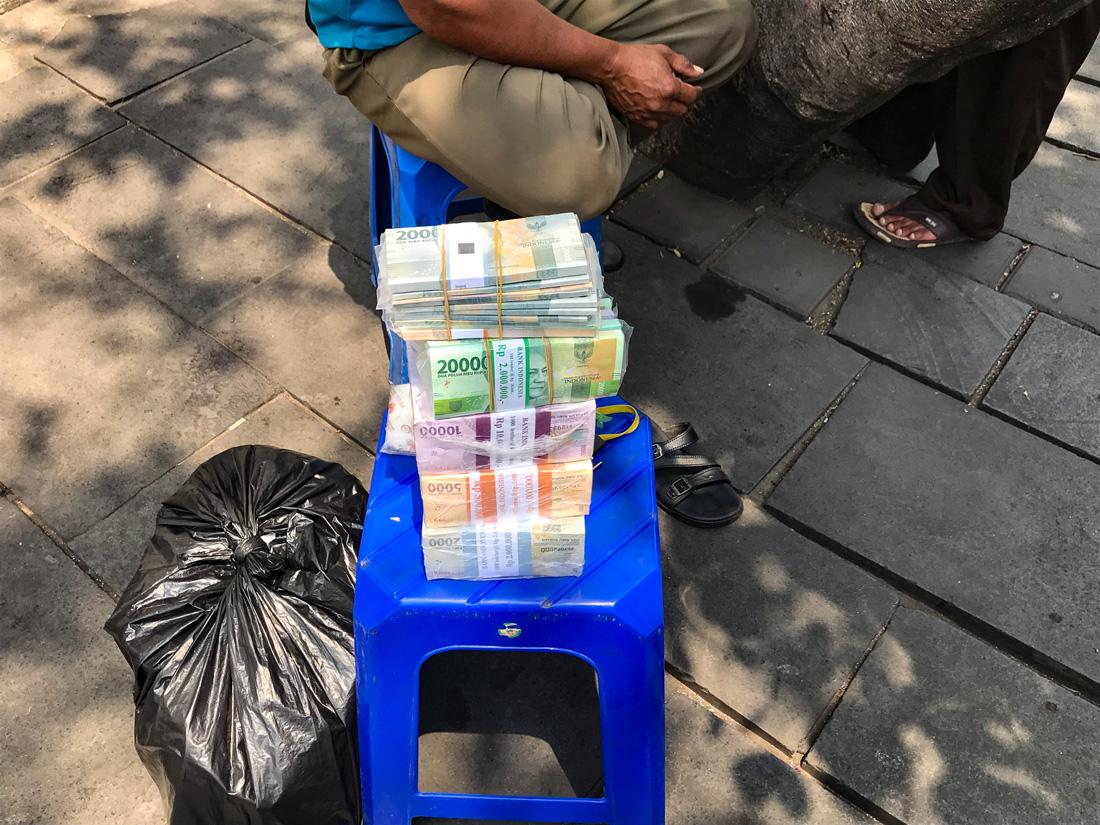 Jakarta Java Indonésie argent