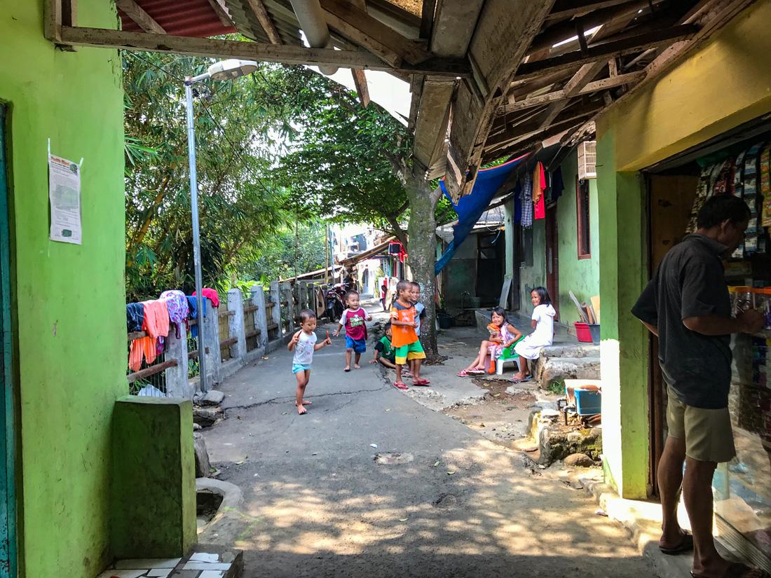 Jakarta Java Indonésie Bogor ruelle