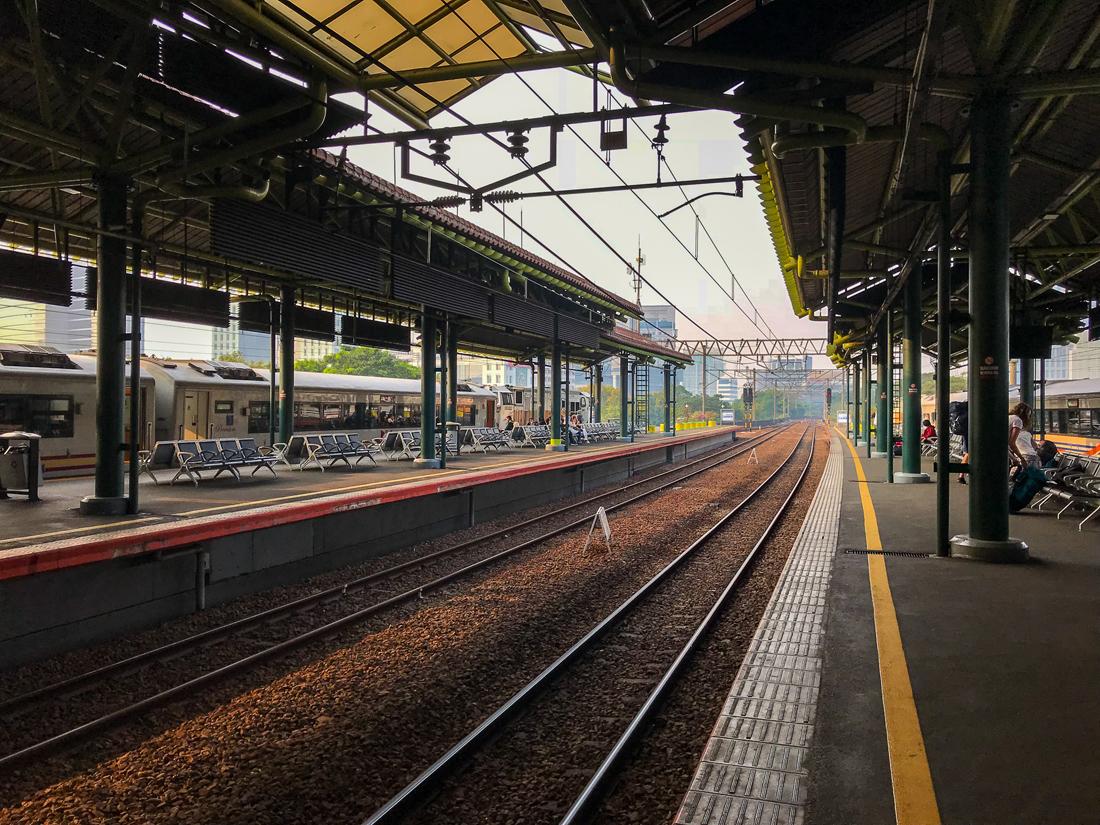 Jakarta Java Indonésie Gare Gambir