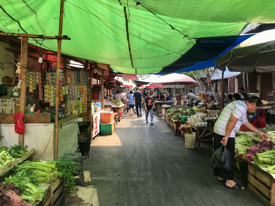 Jakarta Java Indonésie Marché