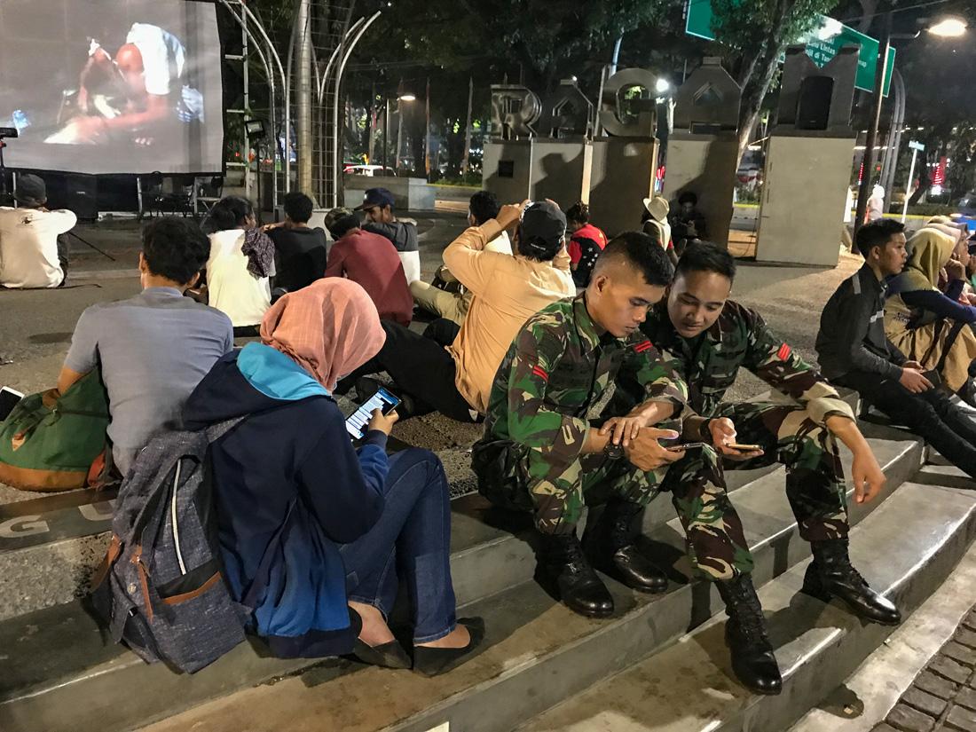 Jakarta Java Indonésie Militaire