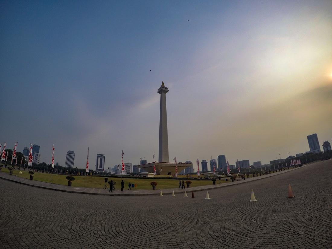 Jakarta Java Indonésie Monas