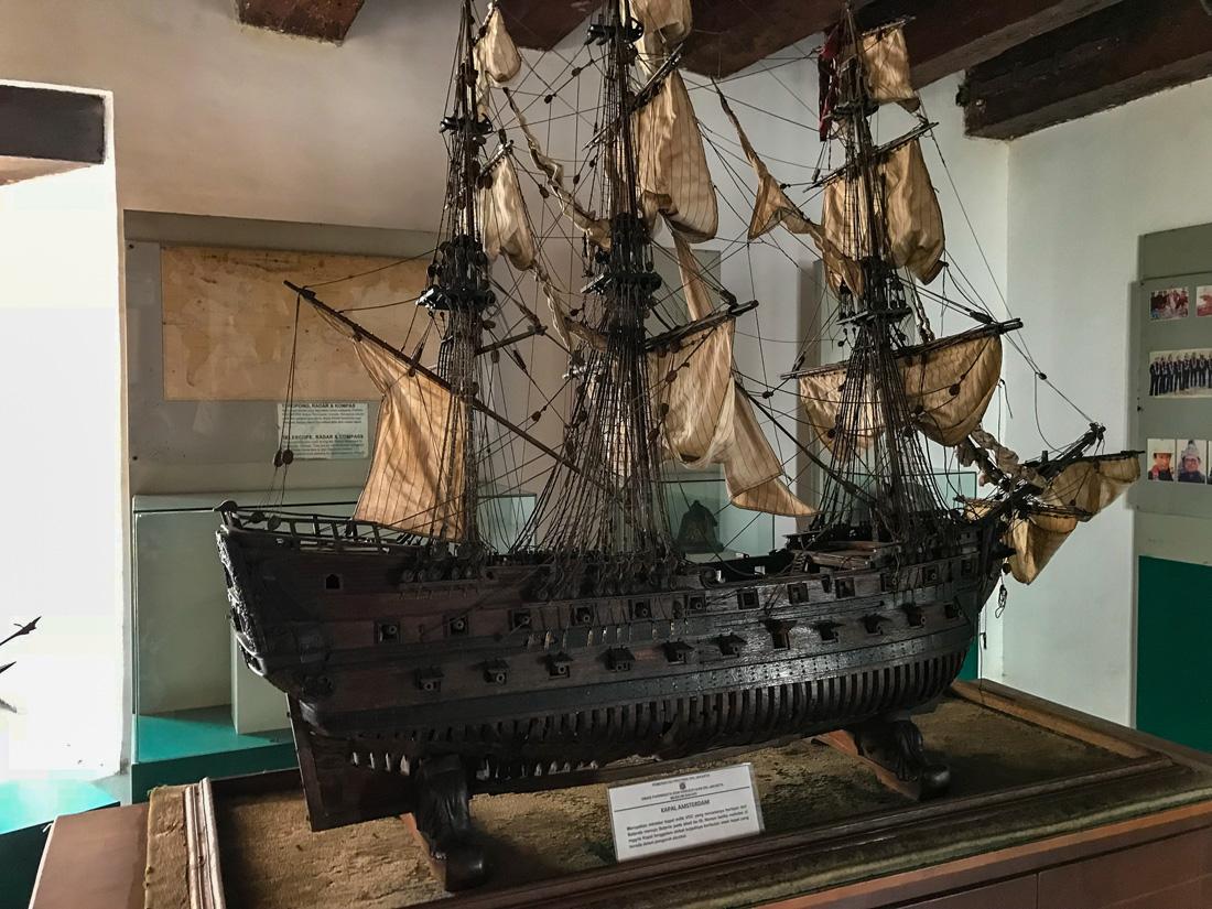 Jakarta Java Indonésie Musée de la marine