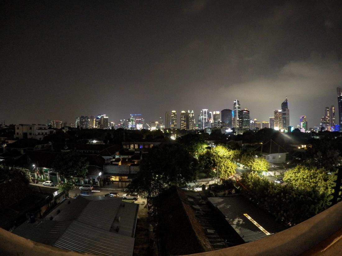 Jakarta Java Indonésie Rooftop Por Que No