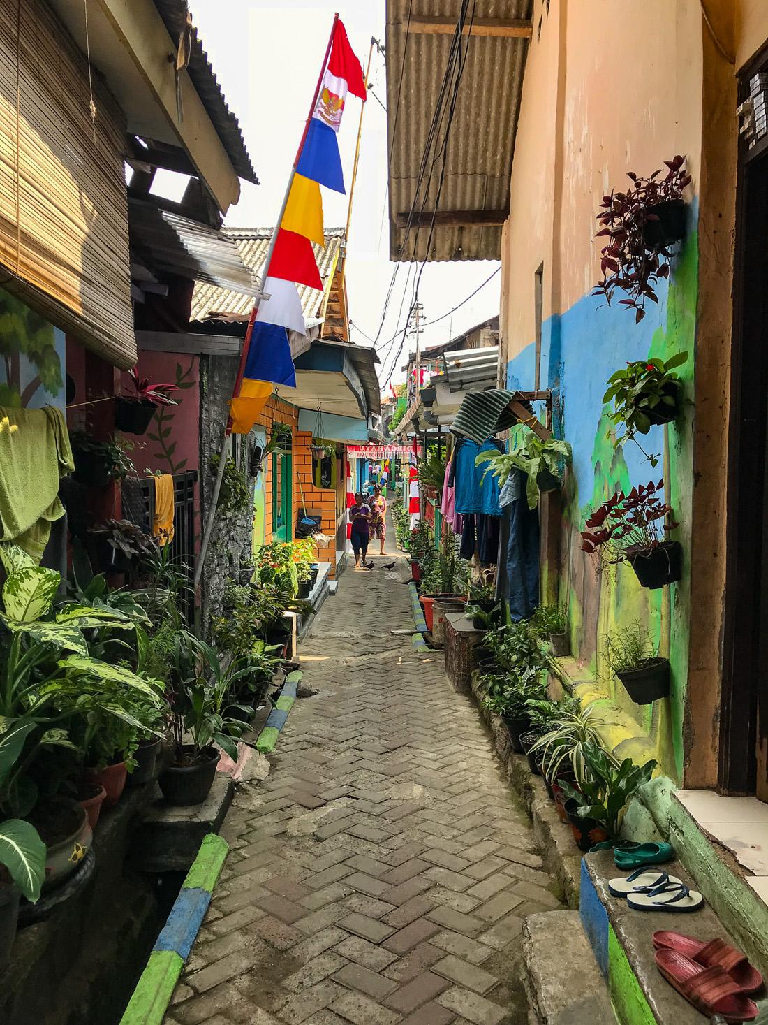 Jakarta Java Indonésie Ruelle