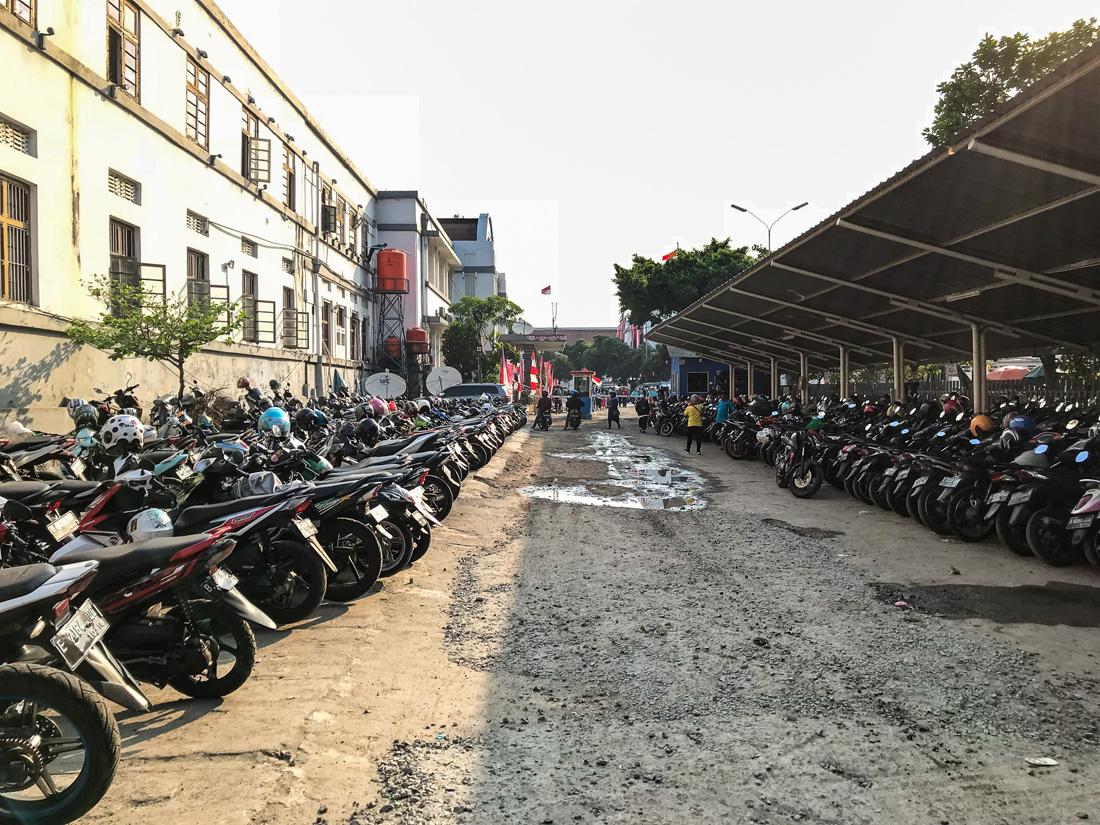 Jakarta Java Indonésie Scooters