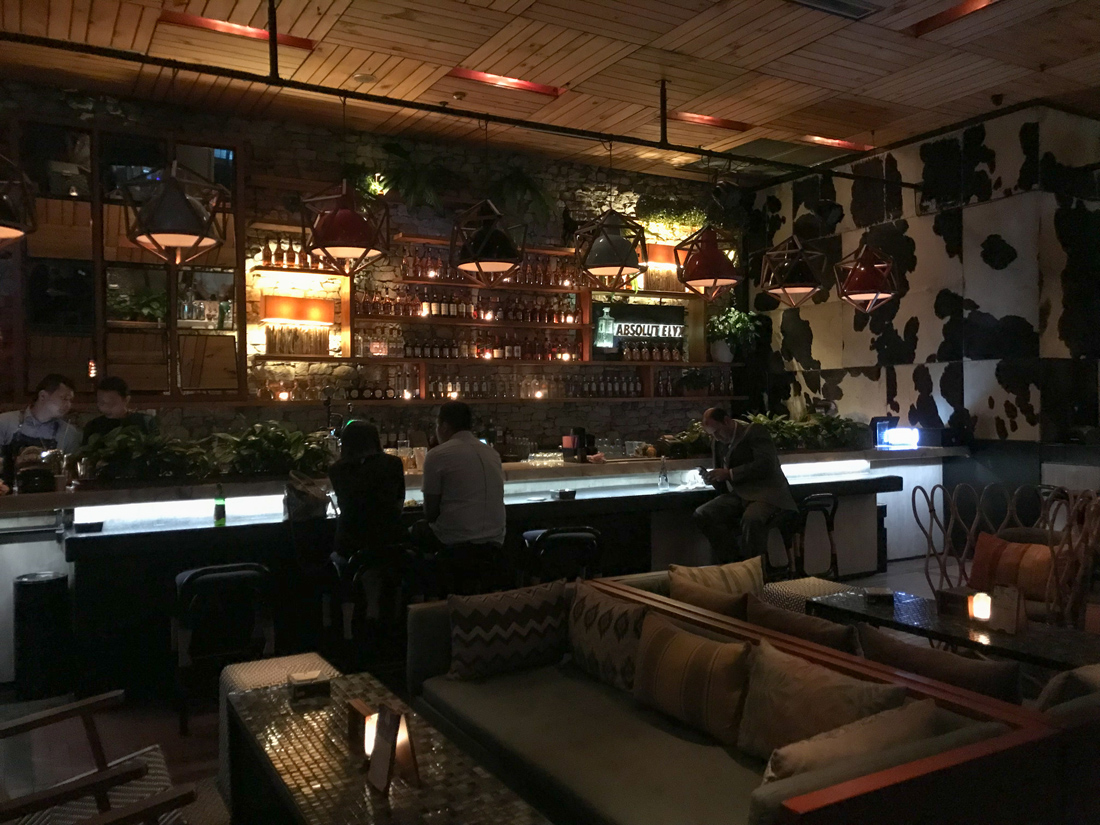 Jakarta Java Indonésie Skye Bar