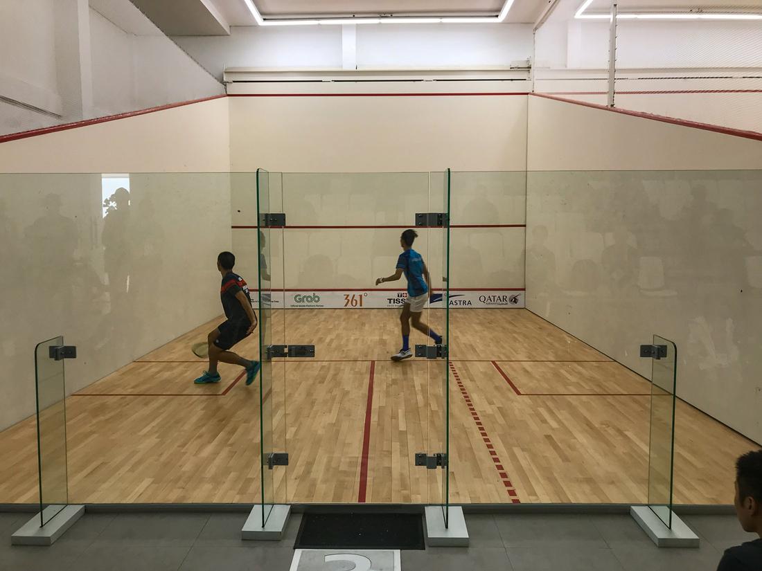 Jakarta Java Indonésie Asian Games Squash