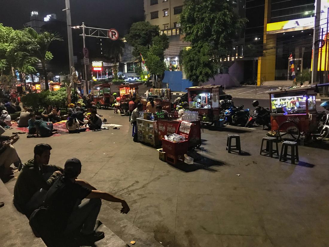 Jakarta Java Indonésie Street food