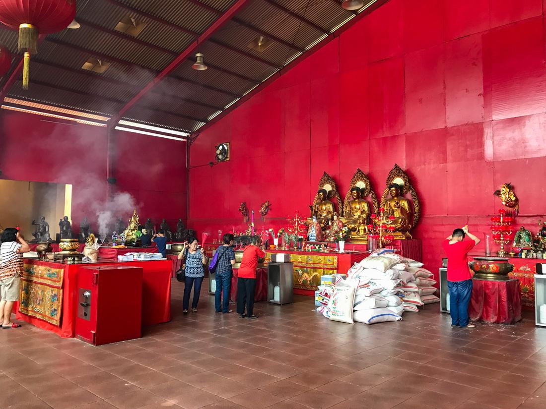 Jakarta Java Indonésie Temple Bakti