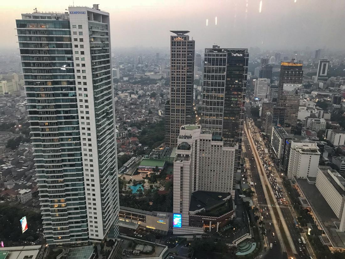 Jakarta Java Indonésie Panorama