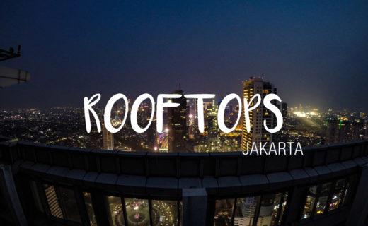 Jakarta Java Indonésie Rooftops
